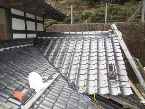 施工後 屋根の様子