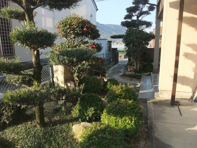 庭造園1(リフォーム前)